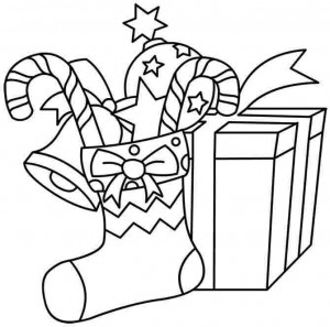 59 christmas present coloring pages printable