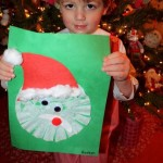 Coffee Filter Santa craft