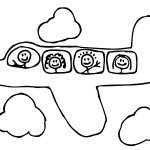 Coloring-Pages-of-Airplane