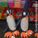 Cone penguin craft