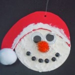 Craft foam Snowman ornament