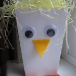 Easter Chick Treat Box Craft