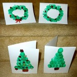 Fingerprint Christmas Craft