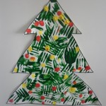 Fork Printing Christmas Tree