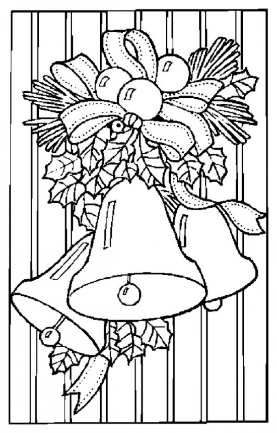 Christmas Bells Coloring Pages December 15 2014 Admin 0