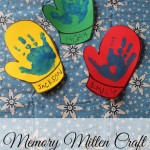 HANDPRINT MITTEN CRAFT