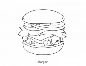 Junk-Food-Coloring-Pages