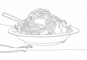 Pasta-Food-Coloring-Pages-To-Print