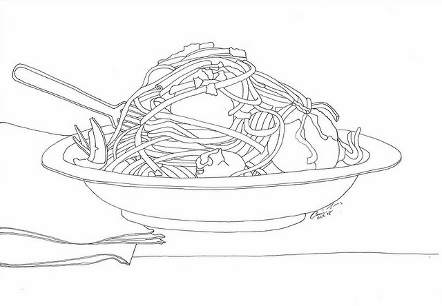 Food and meals coloring pages | Crafts and Worksheets for ...