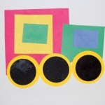 Shapes Transportation Craft For Kids