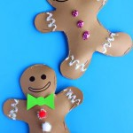 Stuffed Gingerbread Boy  Girl Craft for Kids
