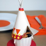 Tepee snack cups