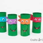 Toilet Paper Roll Ninja Turtles
