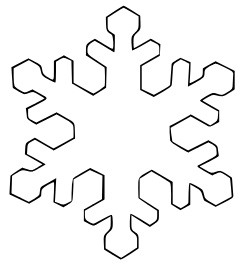 winter cut out coloring pages - photo#1