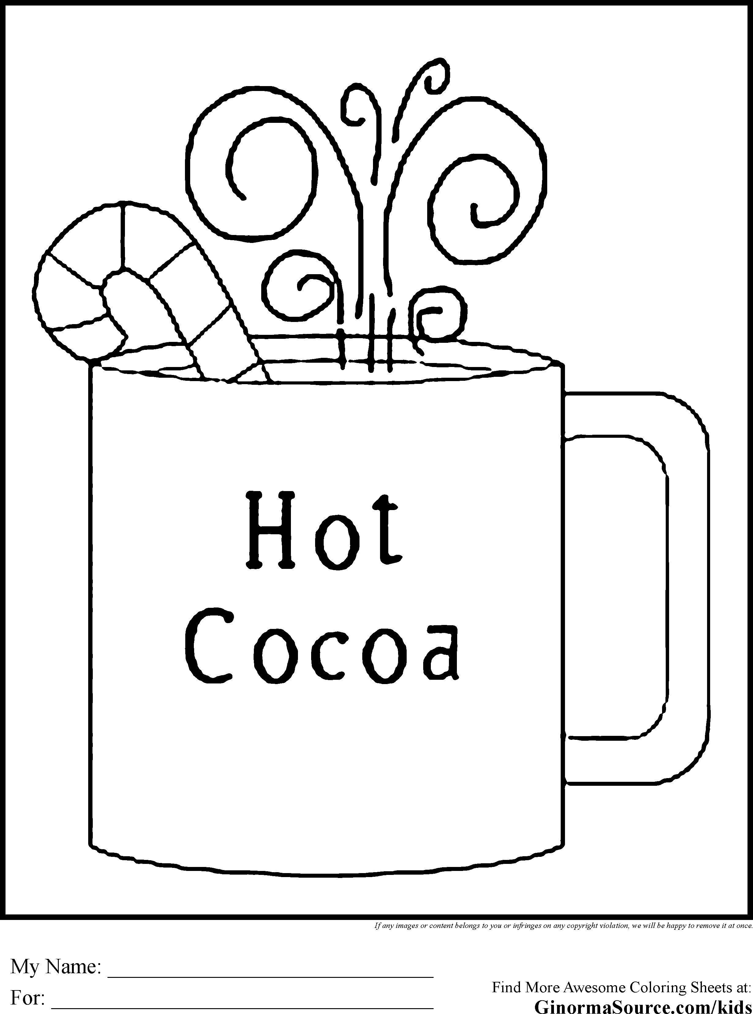 Winter Coloring Pages 5