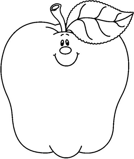 apple coloring sheet  eassume, coloring