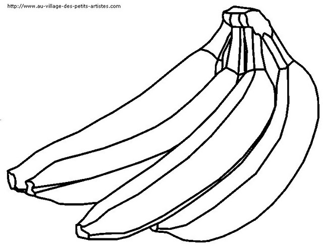 Fruits coloring pages  Crafts and Worksheets for Preschool