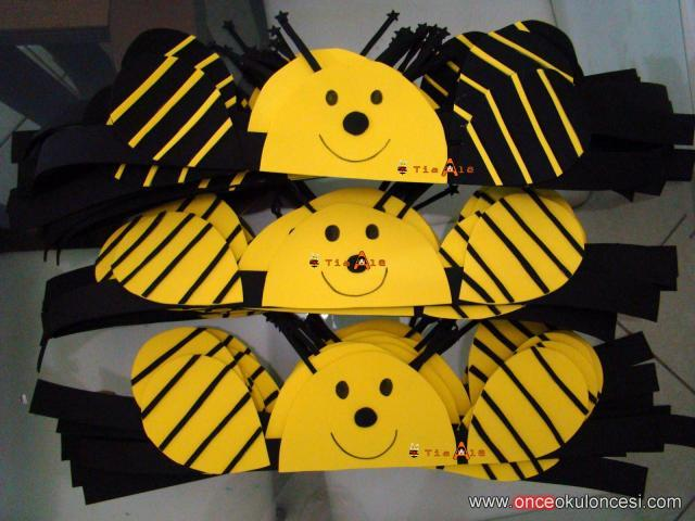 bee headband craft