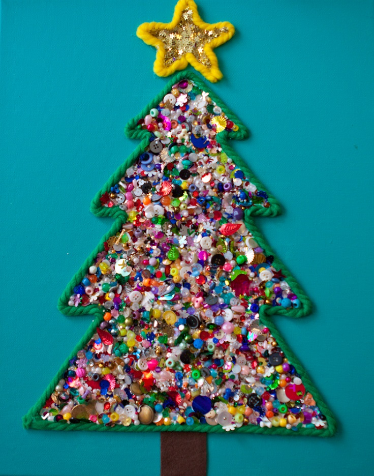 Christmas Tree Craft Cardboard Best Diy Crafts Kids 06