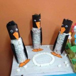 bottle penguin craft