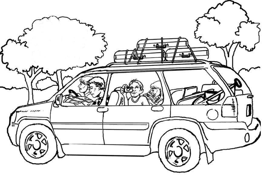 Trip and holiday coloring pages Crafts and Worksheets for