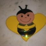 cd bee craft for kids