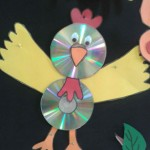 cd bird craft