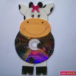 cd cow craft for kid