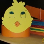 chick head band craft
