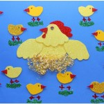 chicken and chick craft