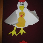 chicken craft for preschool kids
