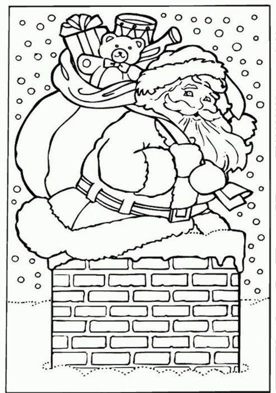 Santa Claus Worksheets Kindergarten