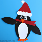 christmas penguin craft