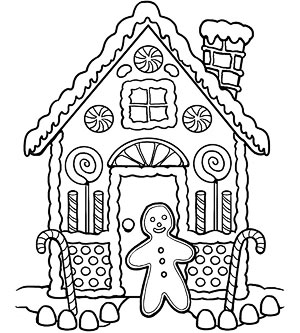 christmas coloring pages to print gingerbread | Gingerbread coloring pages | Crafts and Worksheets for ...