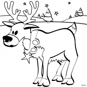 christmas_santa's_reindeer_coloring_pages  (2)