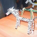 clothespin zebra