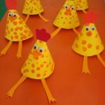 cone hen craft