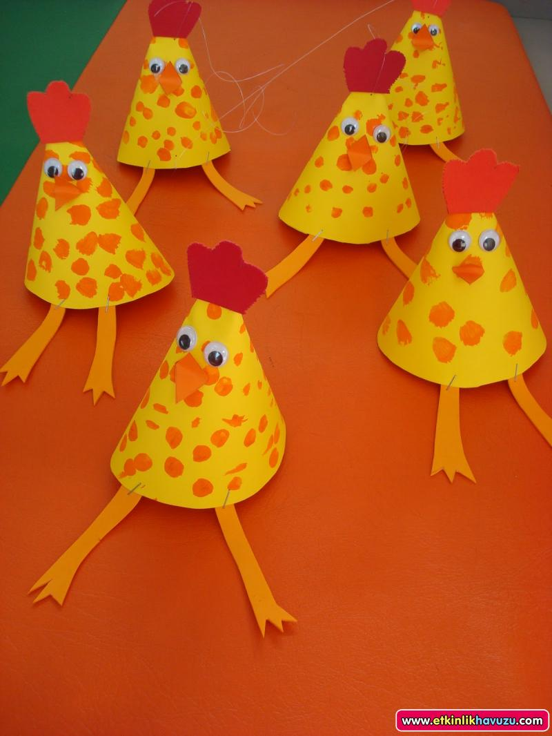 cone hen craft