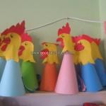 cone hen crafts