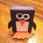 cover juice boxes penguin