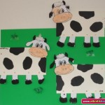 cow craft for kid
