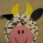 cow crafts for kid