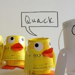 cup duck craft