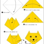 easy_origami_cat_carft_preschool