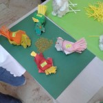 egg carton chicken craft7