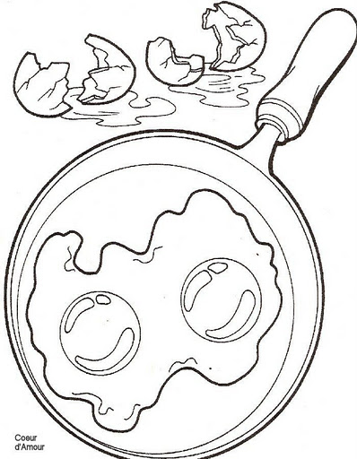 Breakfast Coloring Pages Crafts And Worksheets For Preschool