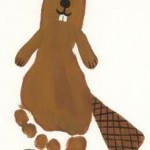 footprint beaver craft
