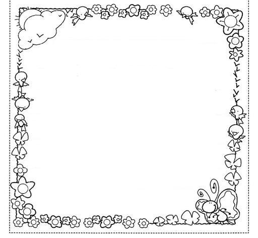 coloring border pages for kids | Crafts,Actvities and Worksheets for Preschool,Toddler and ...