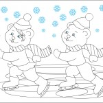 free winter coloring page(3)