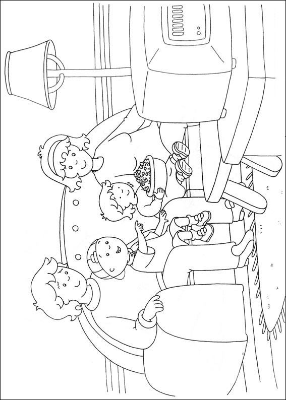 Free Caillou Coloring Pages Worksheets 3 Crafts And Worksheets For Preschool Toddler And Kindergarten